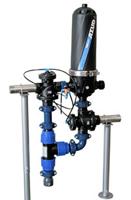 Azud HF 201 Helix фильтр грубой очистки дисковый сетчатый грязевик